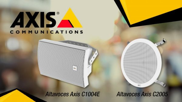 Altavoces en red AXIS all-in-one
