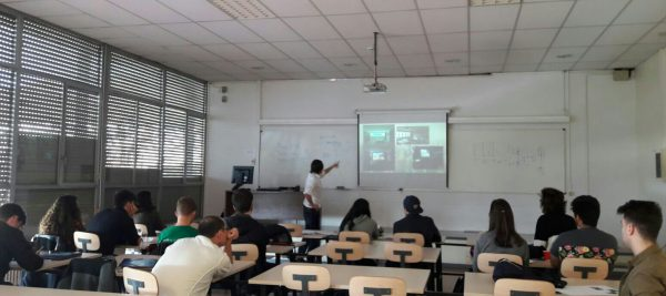 Ingenius presente en la universidad